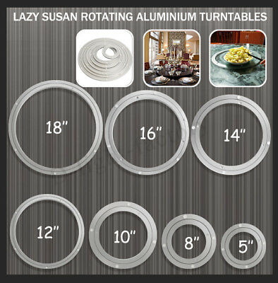 Aluminium Lazy Susan Rotating Bearing Turntable Turn Table Round Swivel Plate