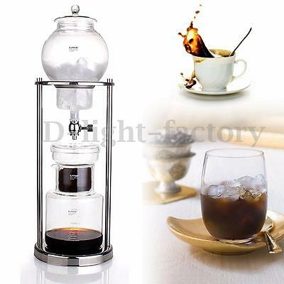 600ML Dutch Coffee Cold Brew / Drip Coffee Maker Ice Water Dripper For 8 Cups