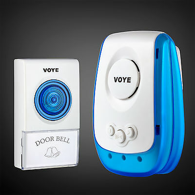 VOYE  VOO9A Home Security Cordless /Wireless Remote control Door Bell 38 music