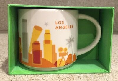 (1) New Starbucks City Mug You Are Here Collection  Los Angeles