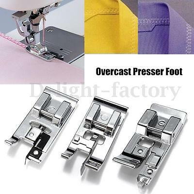 Overcast Presser Foot For Household Low Shank Sewing Machine Brother NEW