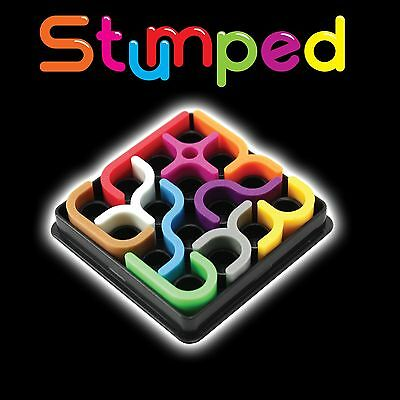 Stumped Puzzle Brain Teaser 24 Challenges Birthday Gift Stocking Filler Mind Fun