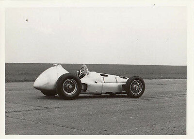 Brm Mk.2 Circa 1954, Side Rear View Photograph.