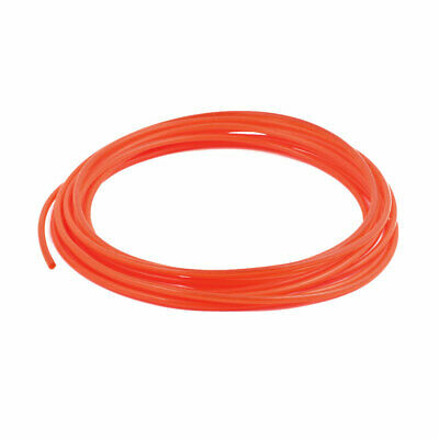 2.5mm x 4mm Flexible Pneumatic Polyurethane PU Hose Pipe Tube Orange 5m Length