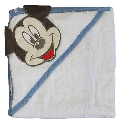 Disney Mickey Mouse Sailor Cuddle Robe Hooded Baby Towel