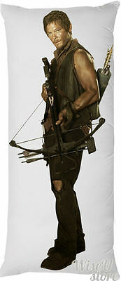 NORMAN REEDUS Daryl Dixon Mad Max Walking Dead Dakimakura Full Body Pillow case