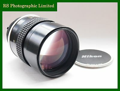 Nikon AI 135mm F2 Fast Manual Prime Lens. Stock No.U7332