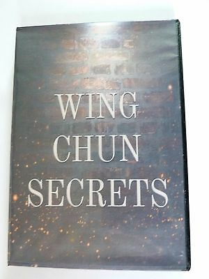 Wing Chun Secrets DVD of Martial Arts, Suitable For Beginners, Learn From Home
