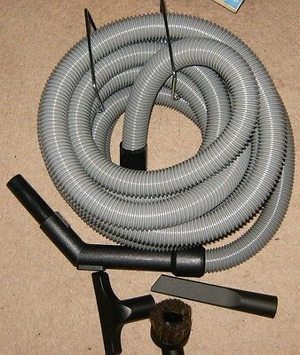 New Central Vac Garage Kit 30' Hose,Hanger and Tools New.