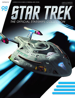 Star Trek Official Starship Collection # 98 USS Rhode Island NCC-72701 (96 97)
