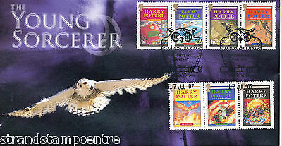2007 Harry Potter (Stamps) - Steven Scott Official