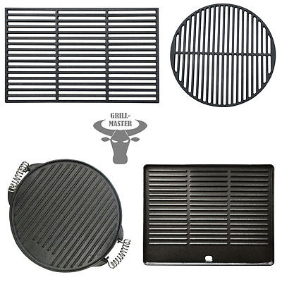 Cast Iron Enamelled BBQ Grate Grid Grill Barbeque Plate Pan Griddle Grillmaster