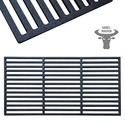 Cast Iron Enamelled BBQ Grate Grid Grill Barbeque Plate Pan 54 x 34 Grillmaster