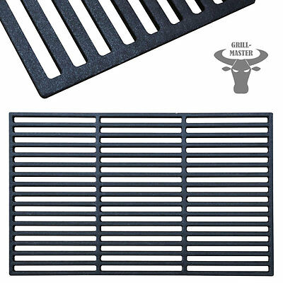 Cast Iron Enamelled BBQ Grate Grid Grill Barbeque Plate Pan 60 x 40 Grillmaster
