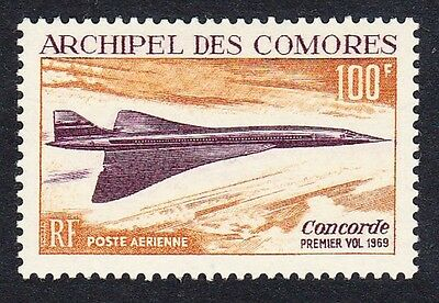 Comoro Is. 1st Flight of Concorde 1v SG#83 SC#C29 MI#102