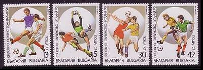 Bulgaria World Cup Football Championship Italy 4v 1st issue SG#3646/49