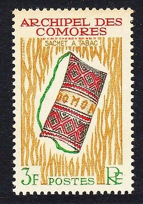 Comoro Is. Handicrafts Tobacco Pouch 1v 3f SG#36 SC#57 MI#55