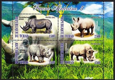 Chad Wildlife Sheetlet issue No 5