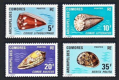 Comoro Is. Sea Shells 4v SG#110/13 SC#99-102 MI#129-32