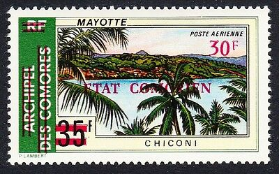 Comoro Is. Overprint 'Etat Comorien' 30 Fr on 35 Fr Chiconi Palms SC#C71 MI#231