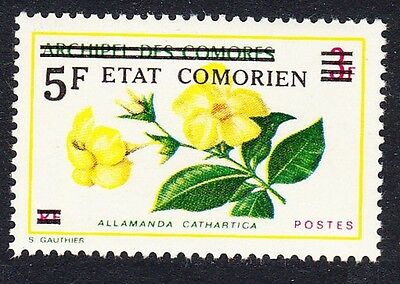 Comoro Is. Overprint 'Etat Comorien' 5 Fr on 3 Fr SC#132 MI#213