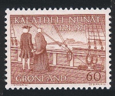Greenland 250th Anniversary of Hans Egedes Arrival in Greenland 1v SG#75 SC#77