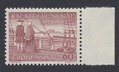 Greenland 250th Anniversary of Hans Egedes Arrival in Greenland 1v with right