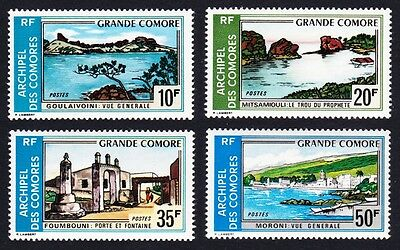 Comoro Is. Tourism Great Comoro Landscapes 4v SG#132/35 SC#107-10