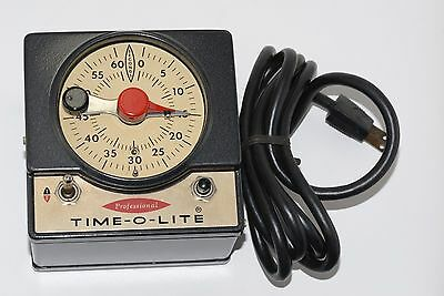Time-O-Lite Professional Timer Model P-59)    New Old Stock