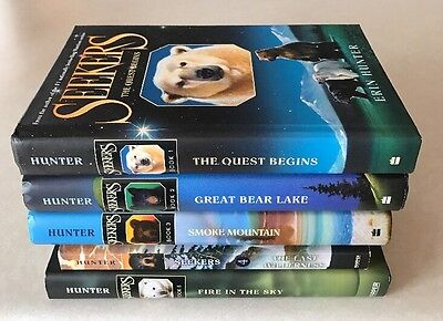 Lot of 5 Seekers Books Series by Erin Hunter 1-5