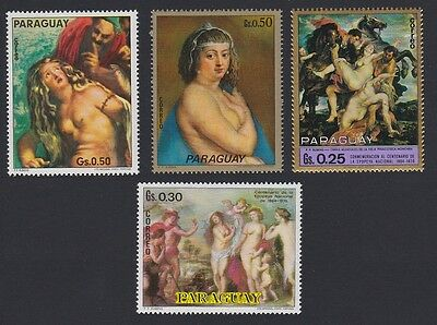 Paraguay Rubens Small collection 4v