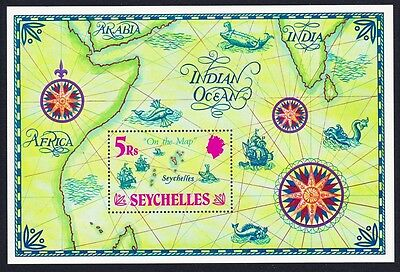 Seychelles on the Map MS SG#MS293 SC#284