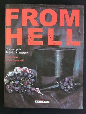 FROM HELL Jack l'éventreur ALAN MOORE TBE