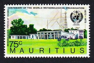 Mauritius Centenary of International Meteorological Organisation 1v SG#469