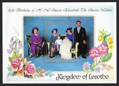 Lesotho Life and Times of Queen Elizabeth the Queen Mother MS SG#MS639 SC#474