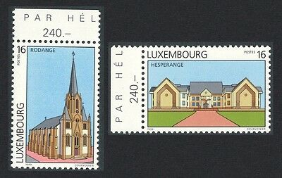 Luxembourg Tourism 2v Margins SG#1463/64