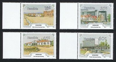 Namibia Centenary of Windhoek 4v with margins SG#545/48 SC#666-69