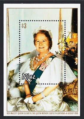 Niue Queen Mother 80th Birthday MS SG#MS365 SC#292
