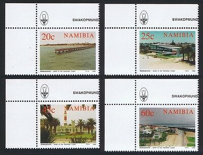 Namibia Centenary of Swakopmund 4v Upper Left Corners SG#592/95 SC#714-17