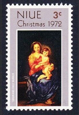Niue Christmas issue 1972 1v SG#174 SC#155
