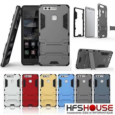 Pour Huawei P10 Coque Housse Etui Anti Choc Case Cover Tpu  Pc Hybride