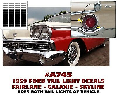 TORINO and FAIRLANE SP A301 1968 FORD GT SIDE C-STRIPE KIT
