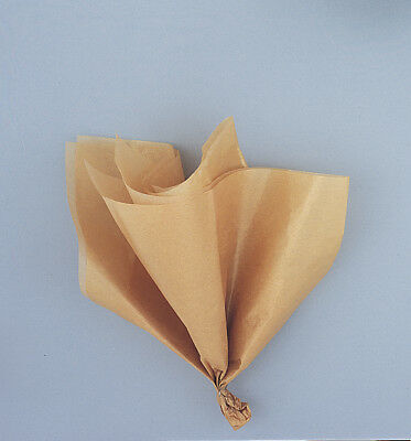 Tissue Sheets x5 Gold Gift Wrapping Tissue Paper