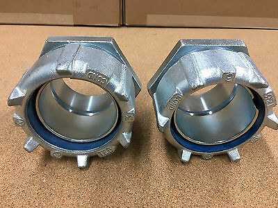 (2) Count Lot NEW THOMAS & BETTS 3 INCH CONDUIT FITTING WATER TIGHT