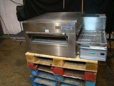 Lincoln Impinger 1132  Electric Conveyor Pizza Oven.....video Demo...refurbished