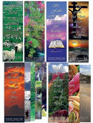"Favorite Bible Verses - Assorted Pack of 100 - 2""x6"""