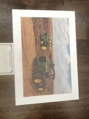 Limited Edition John Deere 9400/8400T Lithograph