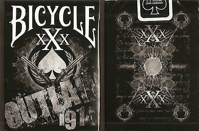 1 DECK Bicycle Outlaw xXx playing cards