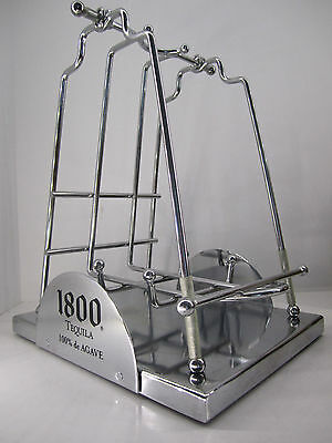 1800 Tequila 1.75L Bottle Cradle with Box - Display stand for Bar etc.
