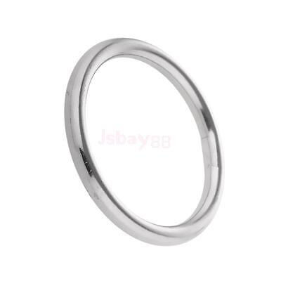 304 Stainless Steel O Rings 1 to 2inch Diameter 0.12 to 0.35inch Thickness